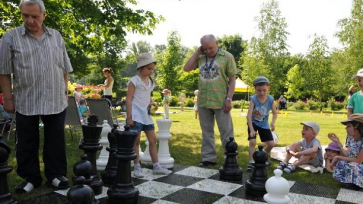 Szachowy relaks u seniorów