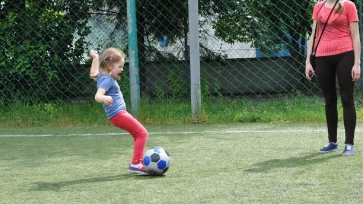 Spartakiada konkurencja z piłką