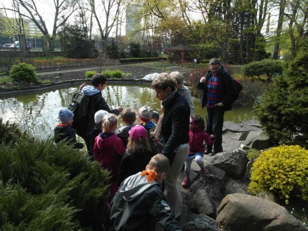 U Kolorowych Rodziców w Ogrodzie Botanicznym